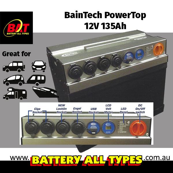 Baintech PowerTop 12V 135Ah